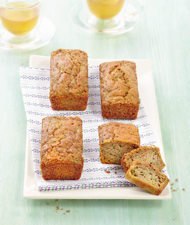 Photo de/du Petits cakes aux courgettes et à la cannelle par WW