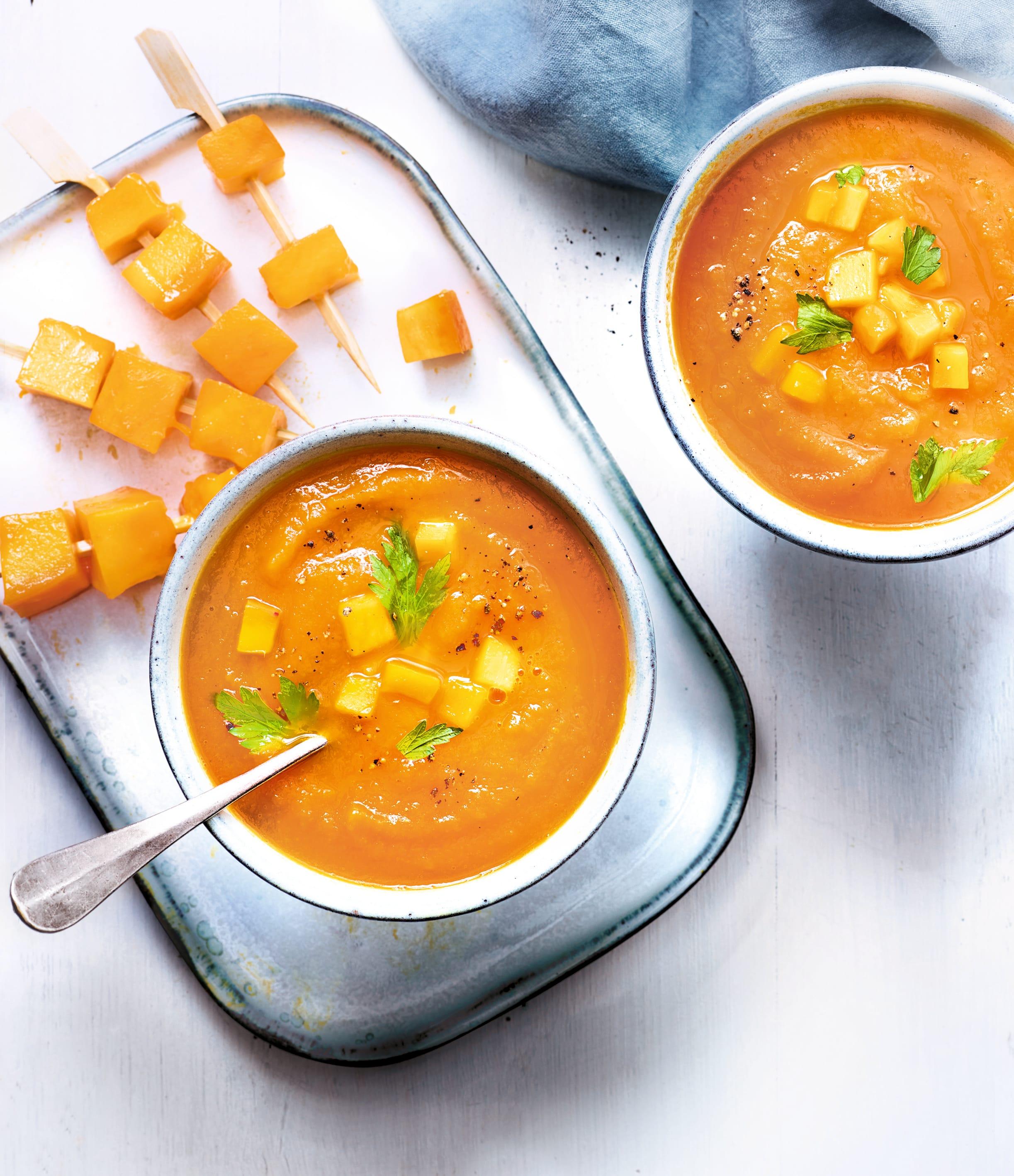 Photo de/du Soupe de carotte et mangue par WW