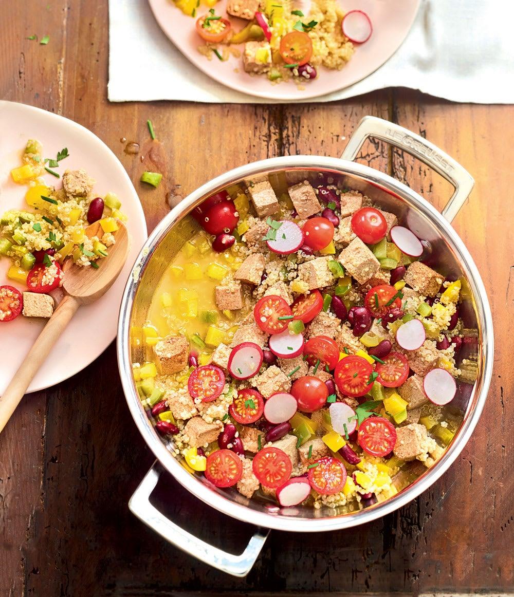 Photo de/du Quinoa végétarien aux agrumes par WW