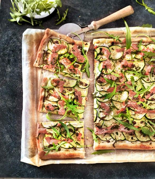 Photo de/du Pizza rose et verte par WW