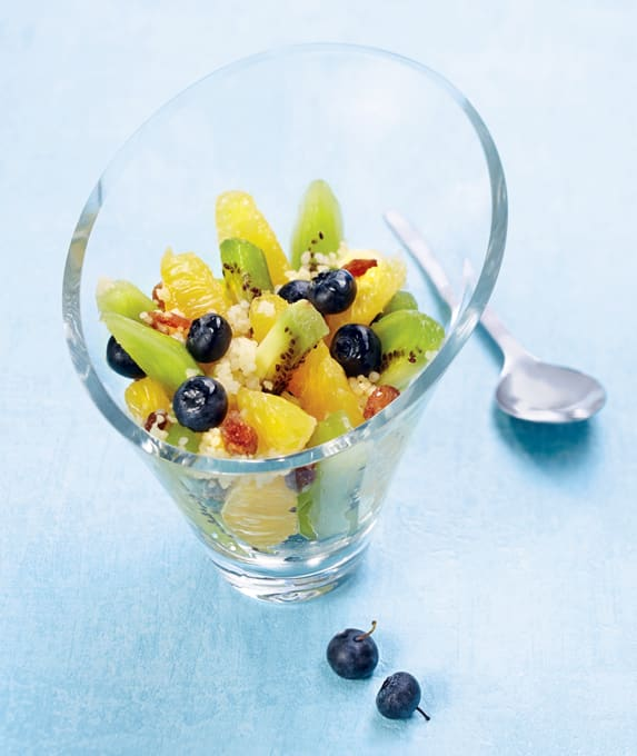 Photo de/du Fruits frais à la semoule par WW