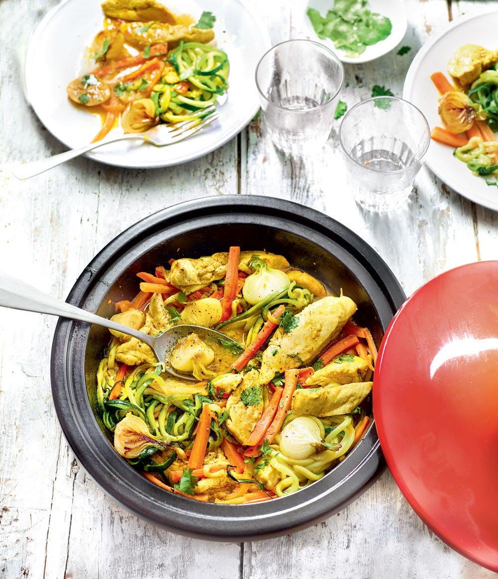 Photo de/du Tajine de dinde aux légumes nouveaux par WW