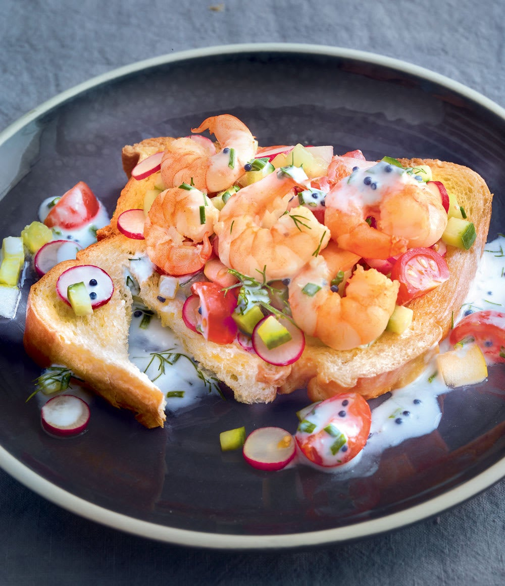 Photo de/du Brioche aux crevettes par WW