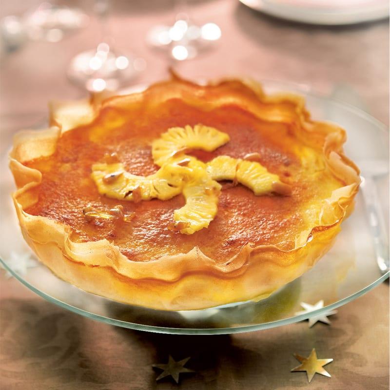 Photo de/du Tarte à l'ananas, caramel et poivre par WW