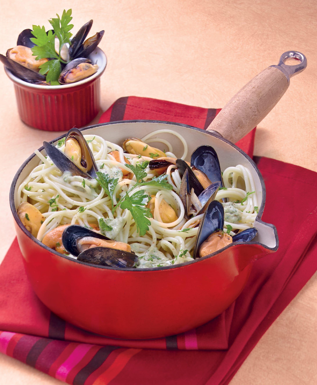 Photo de/du Spaghetti aux moules par WW