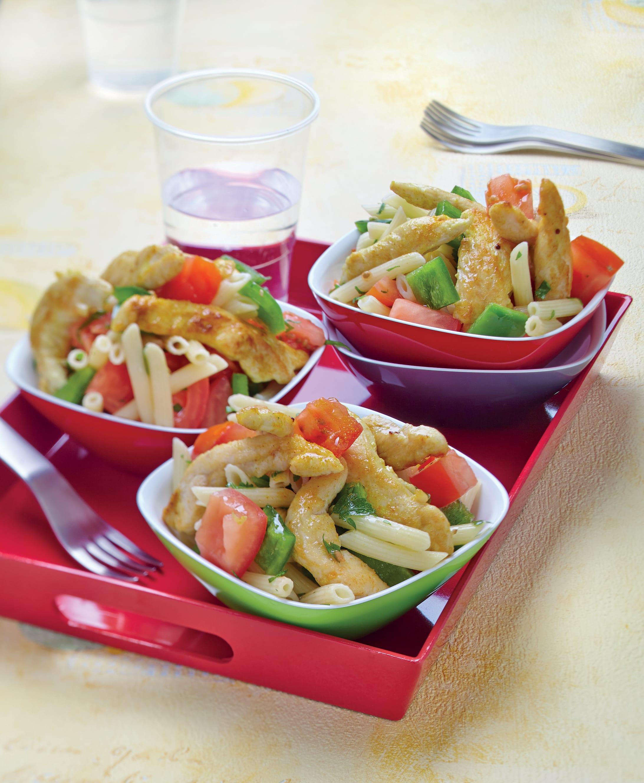 Photo de/du Salade de pâtes au poulet épicé par WW