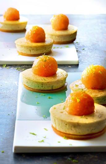 Photo de/du Mini-cheese-cakes au melon par WW