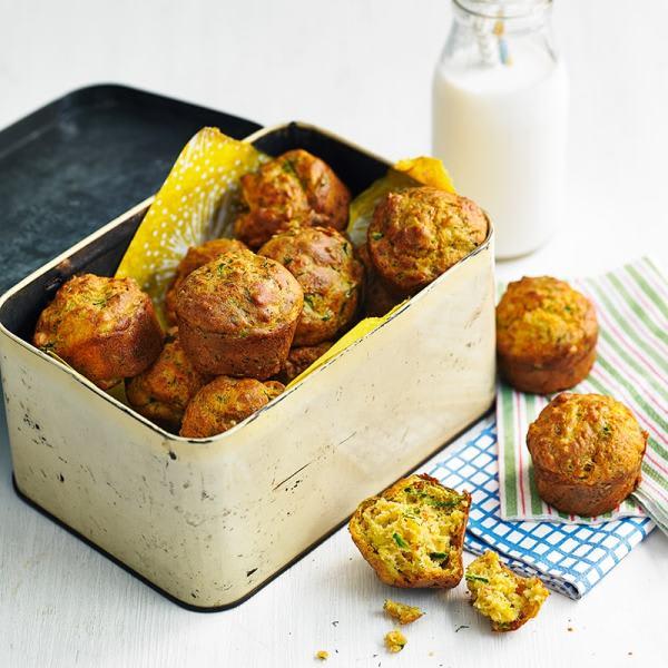 Photo de/du Mini muffins courgette et harissa par WW