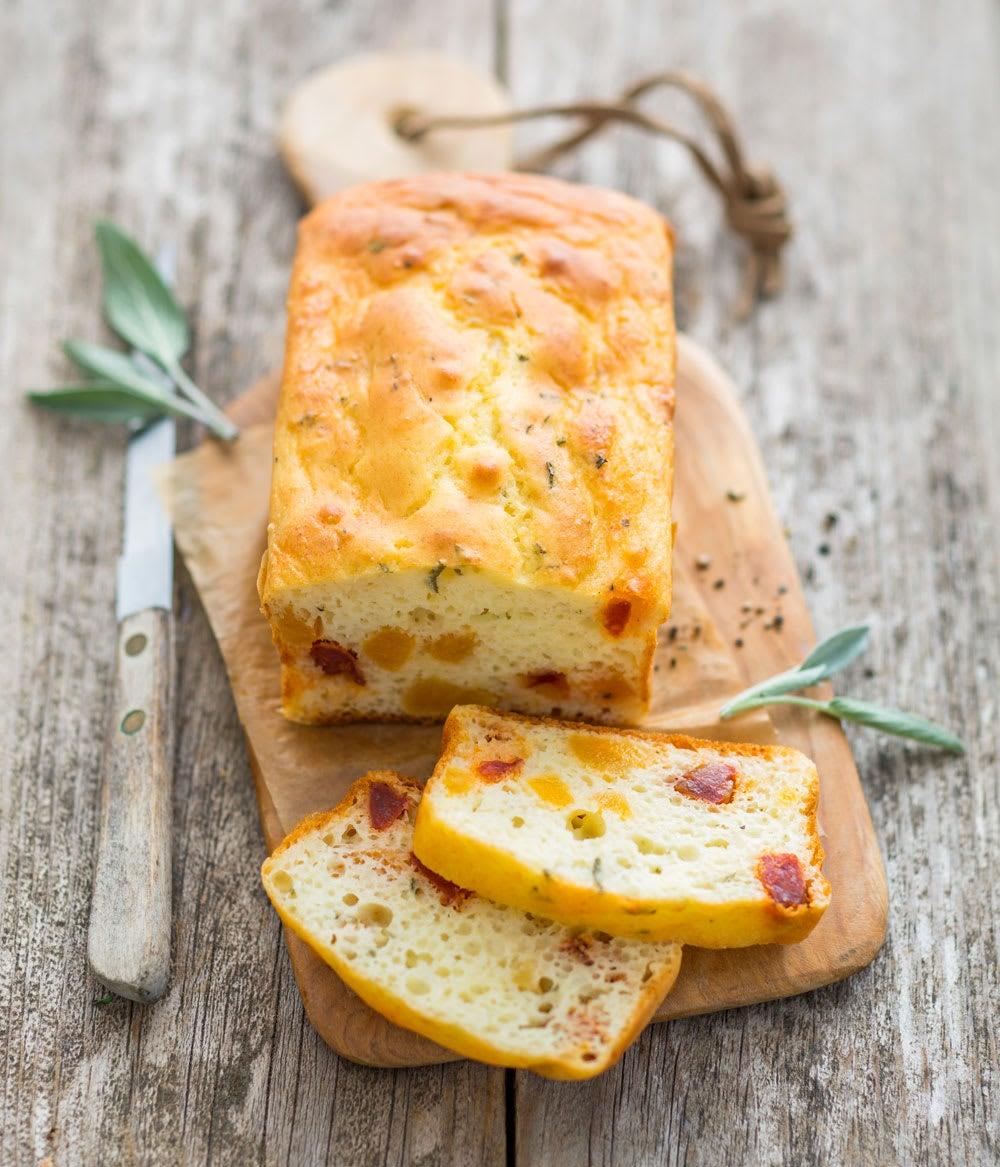 Photo de/du Cake au chorizo et abricots par WW