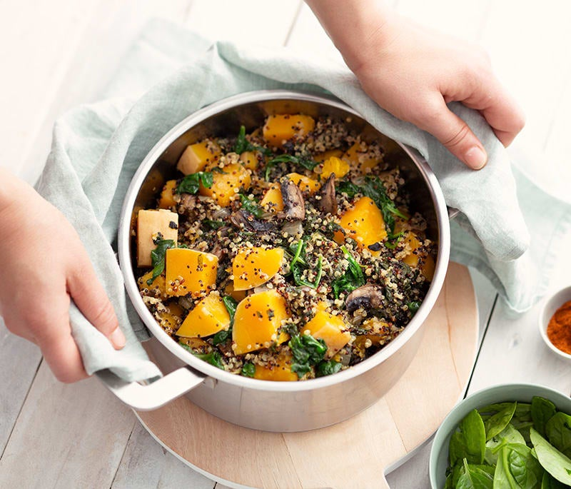 Photo de/du Quinoa au butternut par WW