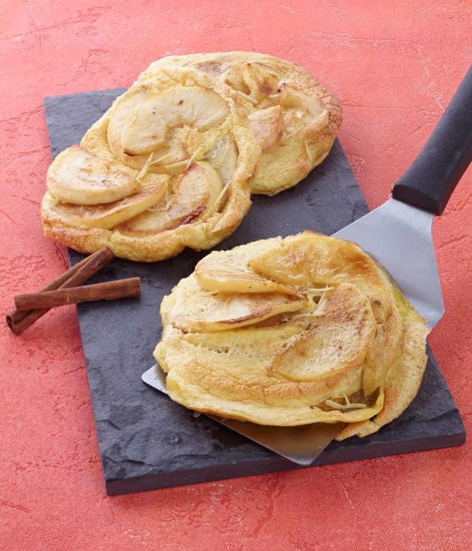 Photo de/du Omelette soufflée aux pommes épicées par WW