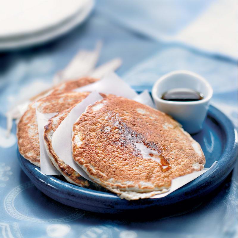 Photo de/du Pancake à l'avoine grillée et banane par WW