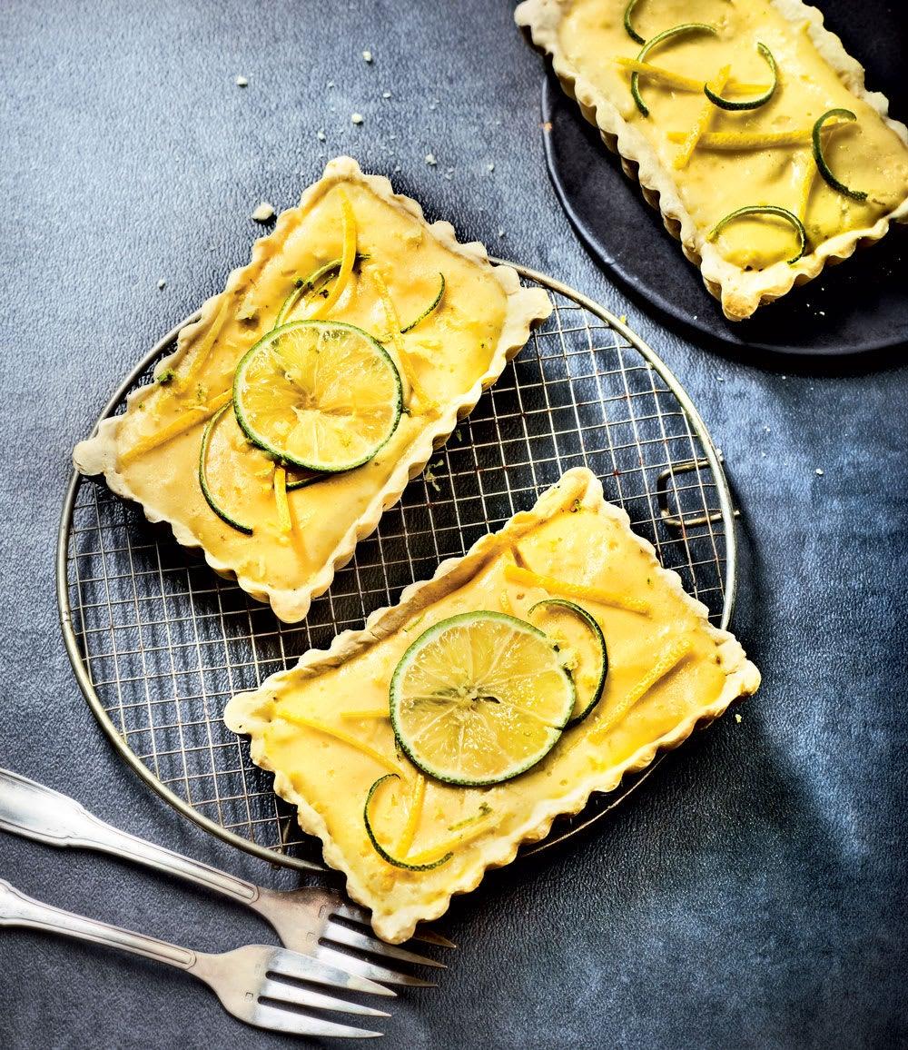 Photo de/du Tartelettes aux deux citrons par WW