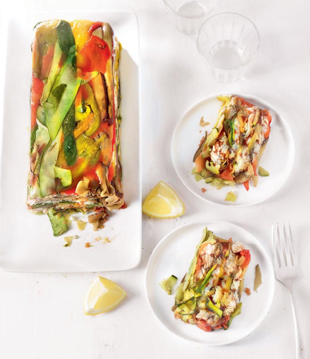 Photo de/du Terrine de légumes grillés à l'églefin par WW