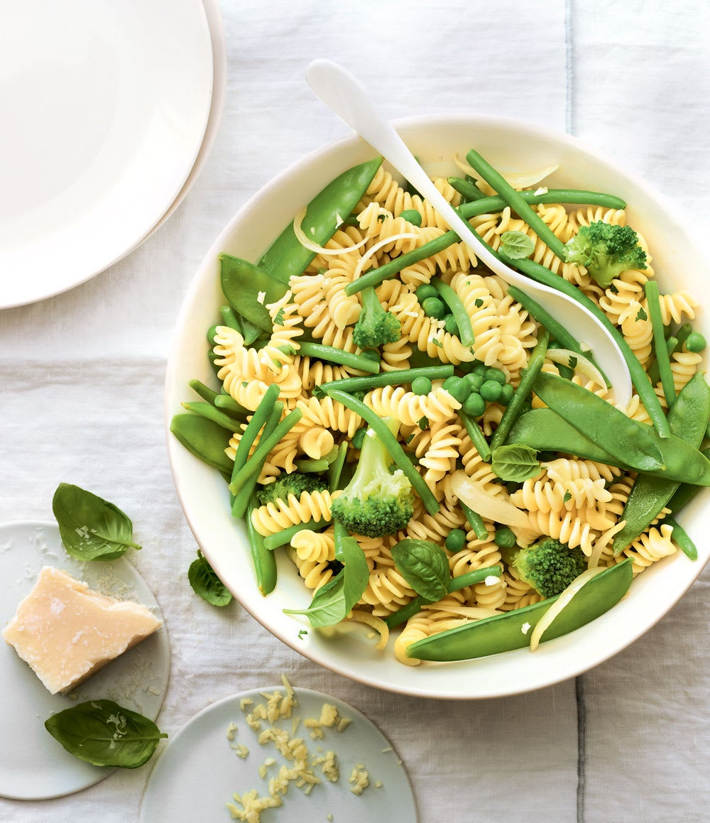 Photo de/du One pot pasta tout vert par WW