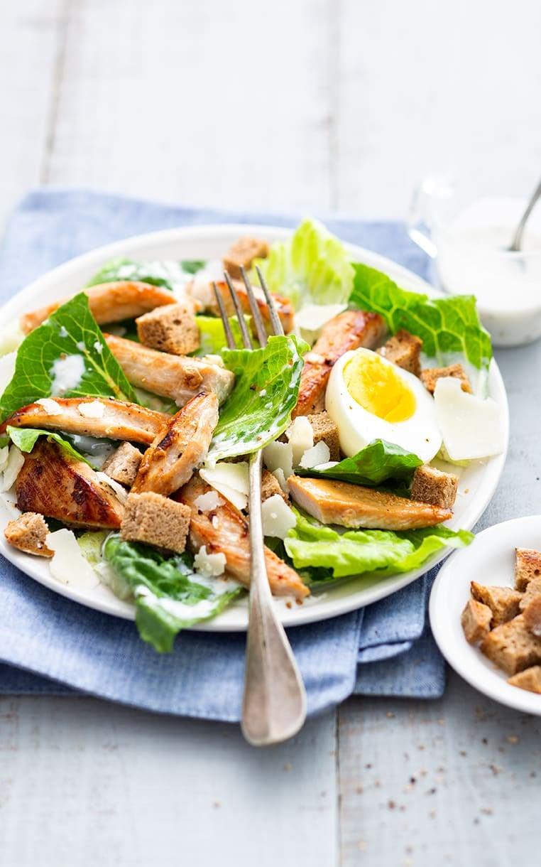 Photo de/du Salade Caesar à la dinde par WW