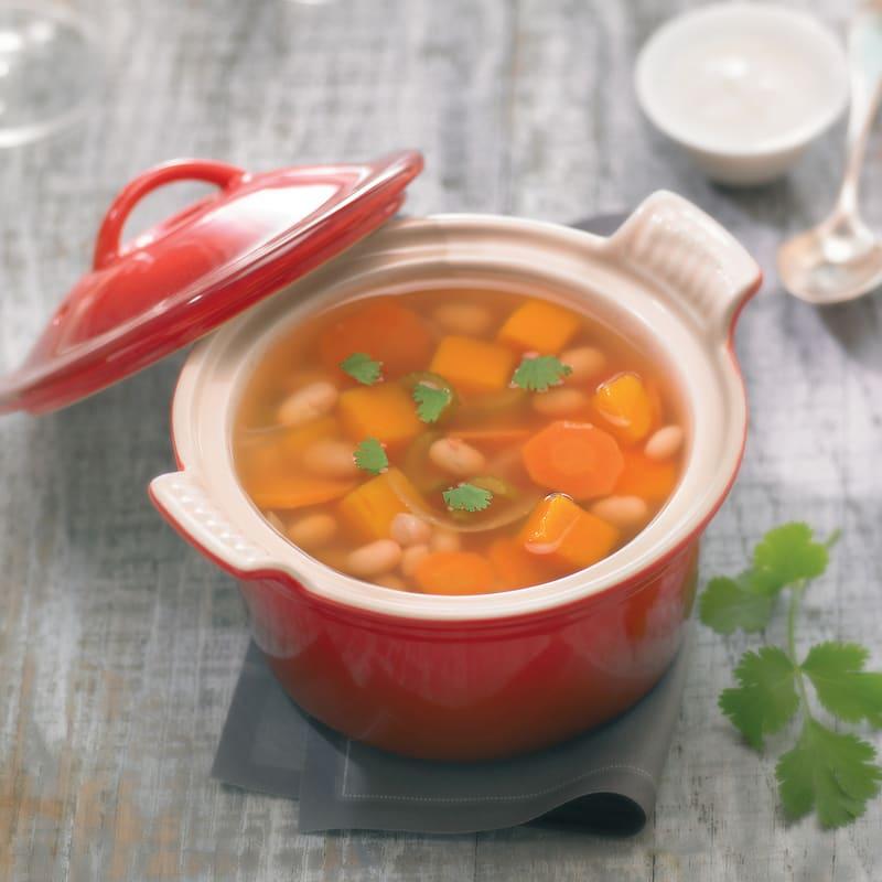 Photo de/du Soupe coco potiron au yaourt épicé par WW