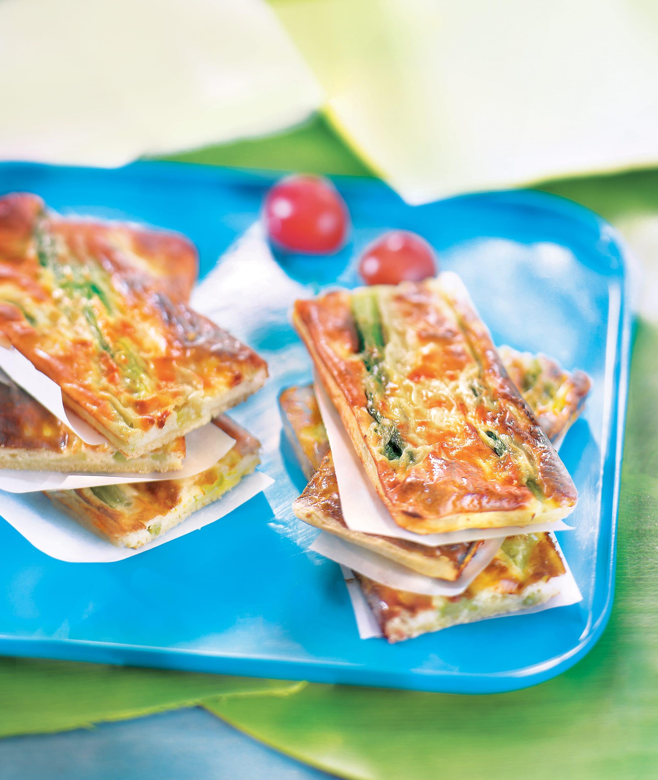 Photo de/du Bouchée parmesane aux asperges par WW