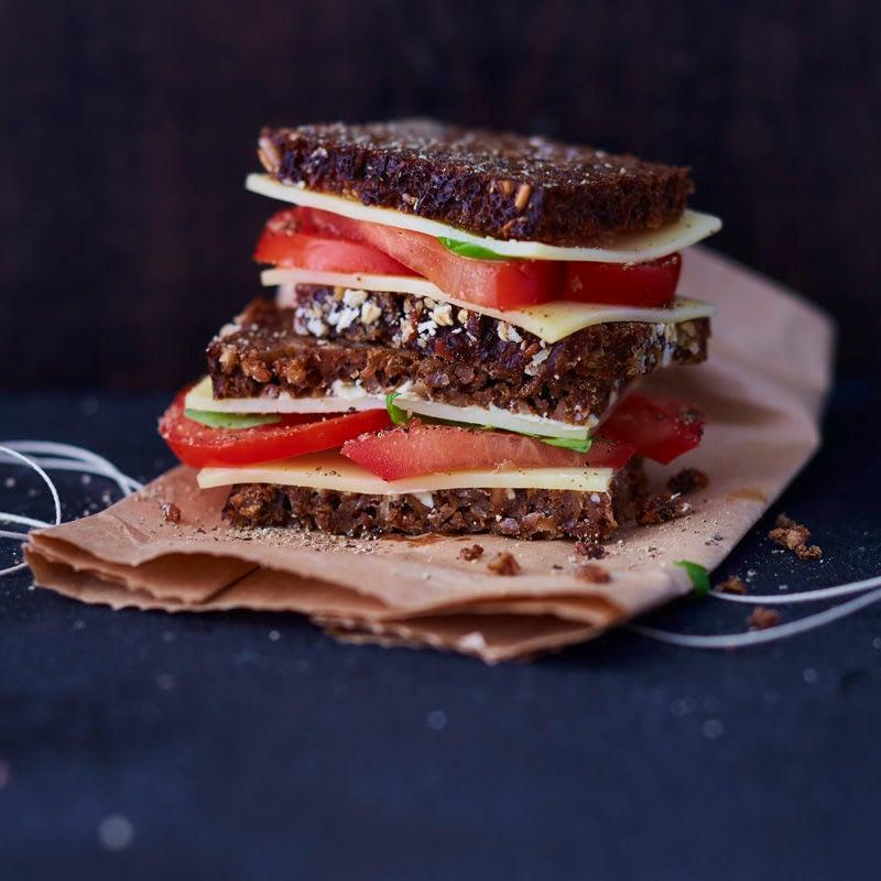 Photo de/du Pain au fromage et tomates par WW
