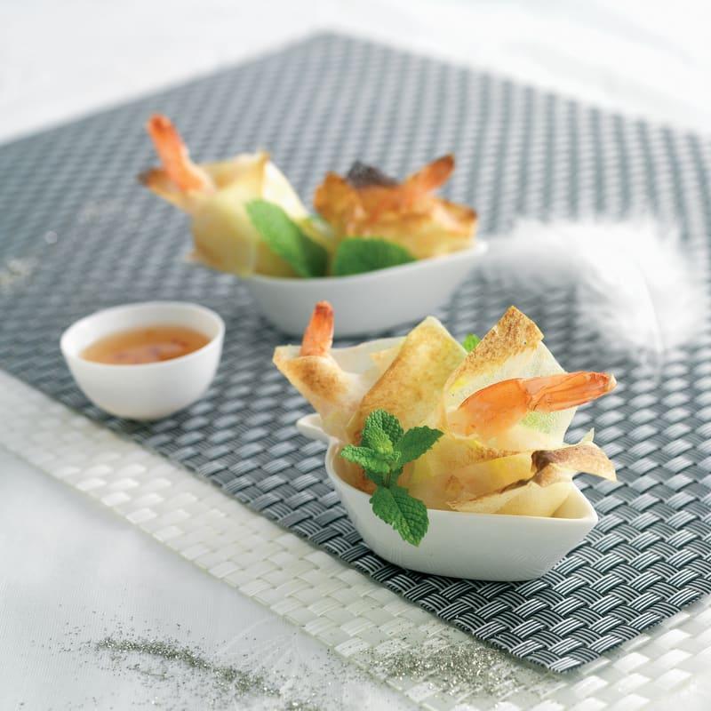 Photo de/du Croustillants de crustacés par WW