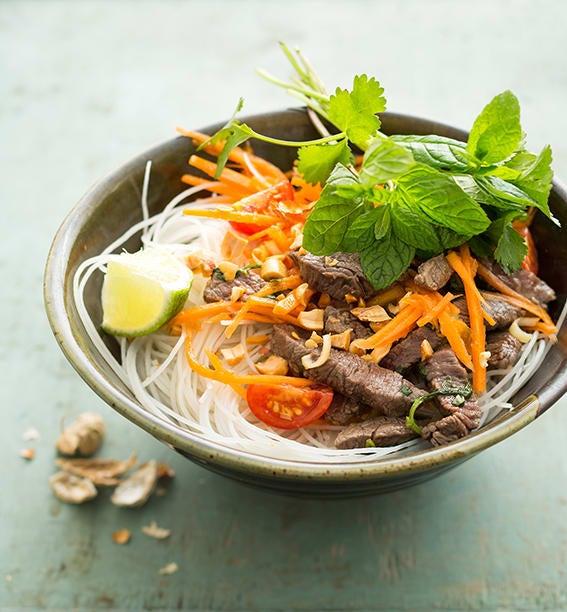 Photo de/du Salade de bœuf thaïe par WW