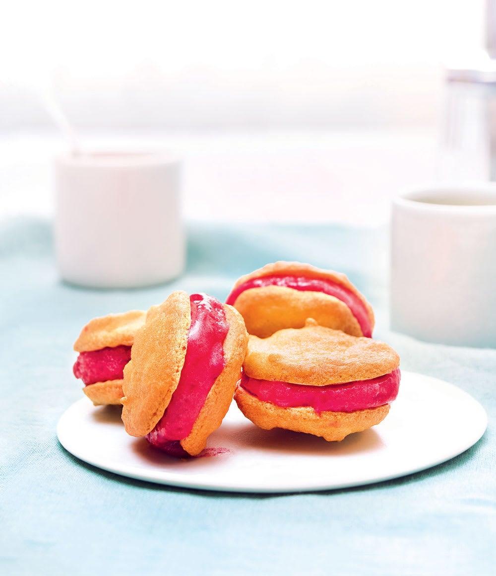 Photo de/du Macaron Ice Cream Sandwich par WW