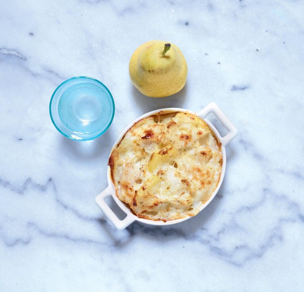 Photo de/du Gratin de chou-fleur et pommes de terre par WW