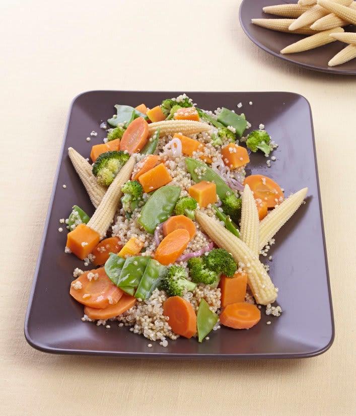 Photo de/du Wok de quinoa végétarien par WW