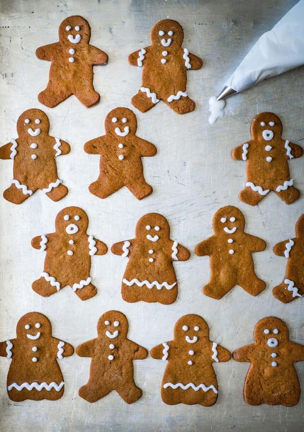 Photo de/du Biscuits bonshommes de Noël au pain d'épices par WW