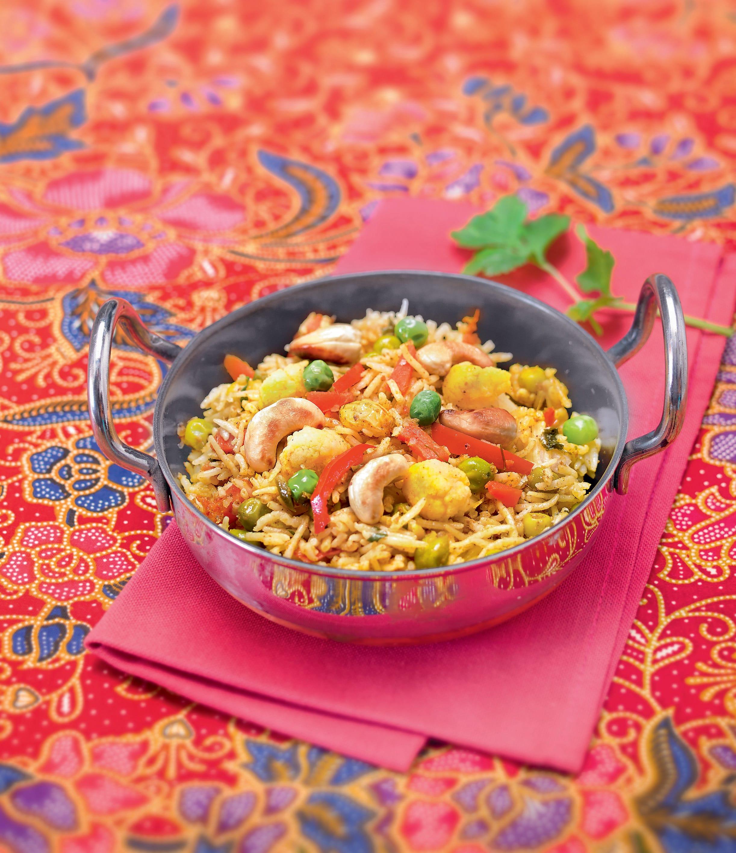 Photo de/du Riz biryani aux légumes par WW