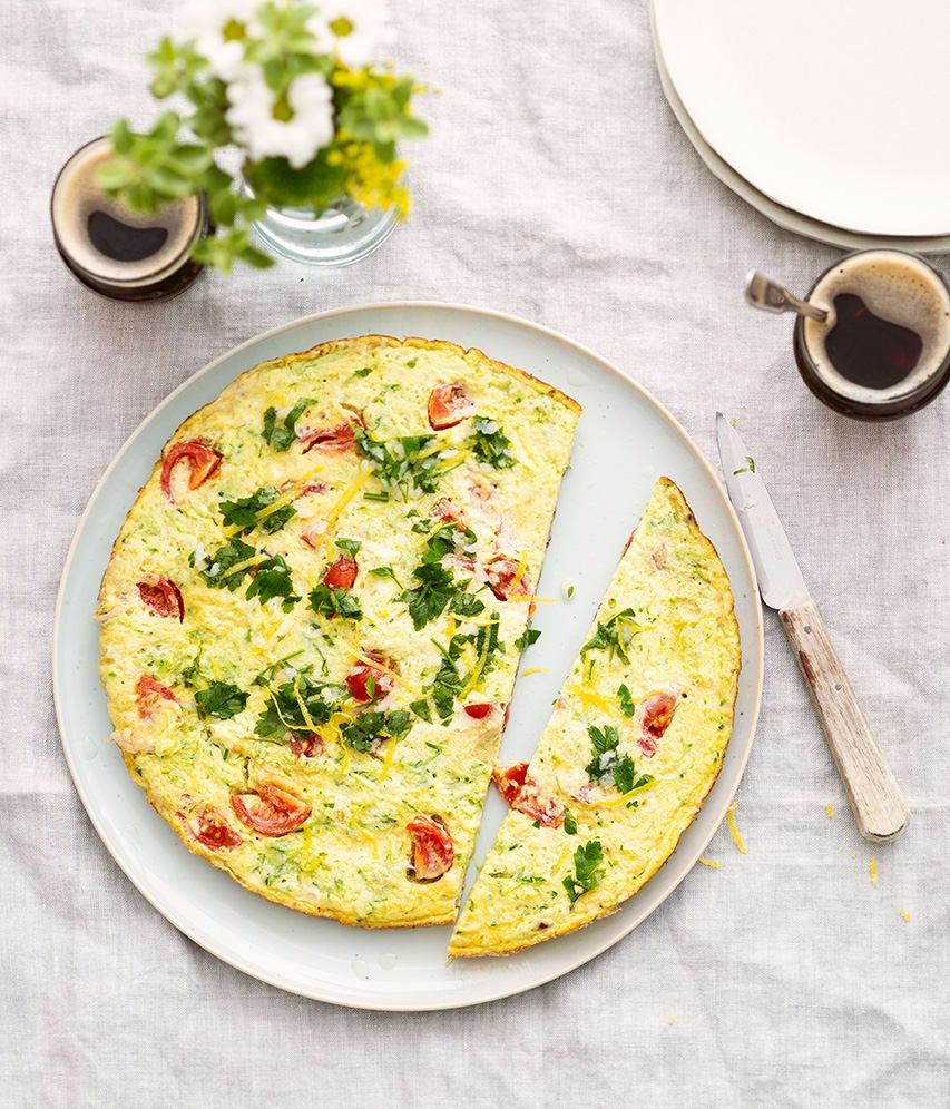 Photo de/du Tortilla courgettes et gremolata par WW