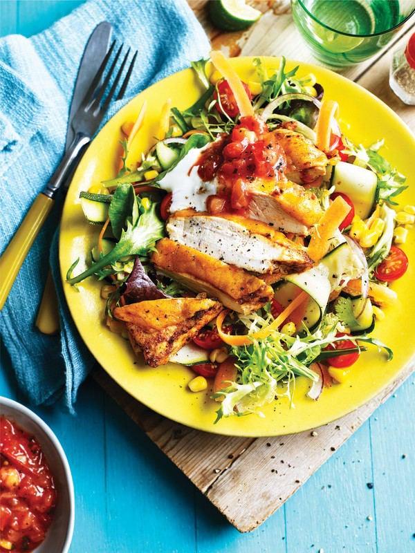 Photo de/du Salade de poulet Cajun par WW