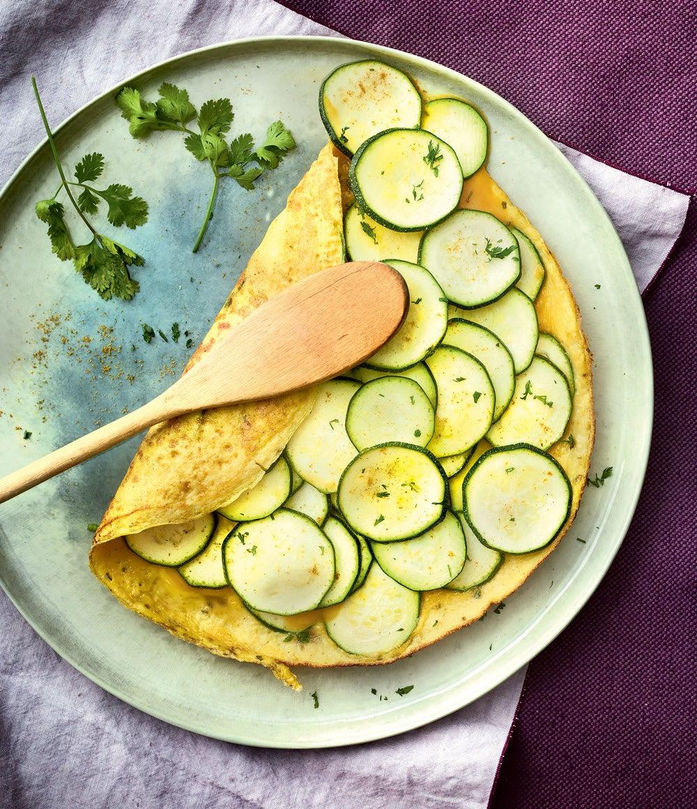Photo de/du Omelette indienne aux courgettes par WW