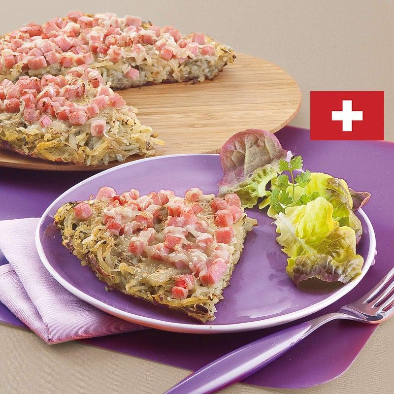 Photo de/du Rösti au jambon et fromage par WW