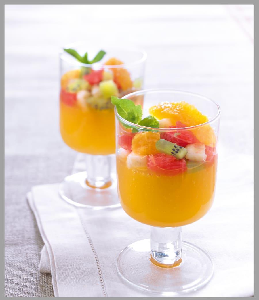 Photo de/du Gelée de clémentine aux fruits frais par WW