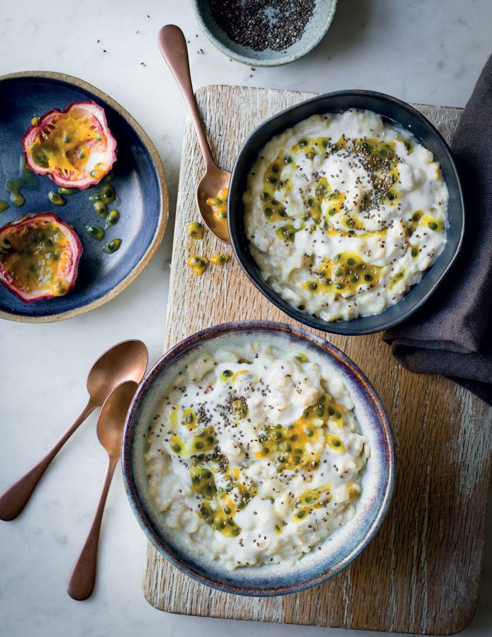 Photo de/du Porridge noix de coco et graines de chia par WW
