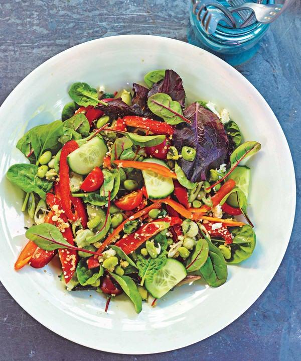 Photo de/du Salade d'edamame par WW