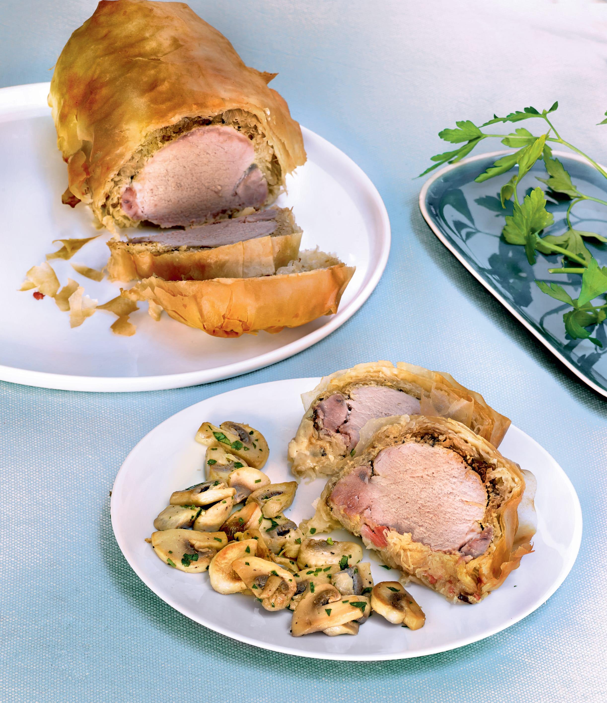 Photo de/du Feuilleté de filet mignon de porc à l'alsacienne par WW