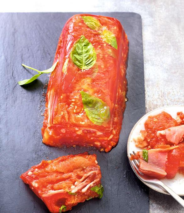 Photo de/du Terrine de tomate au basilic par WW