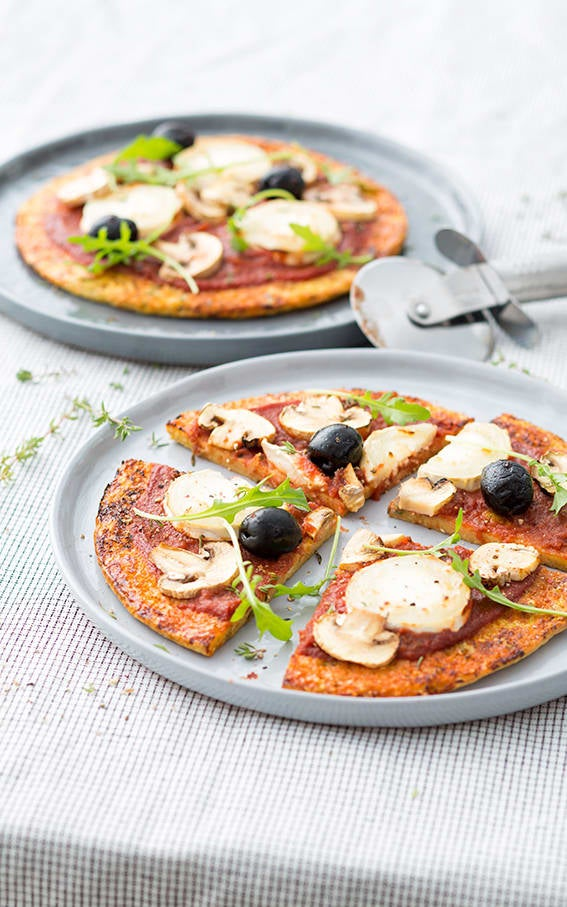 Photo de/du Pizzette sur fond d'omelette par WW
