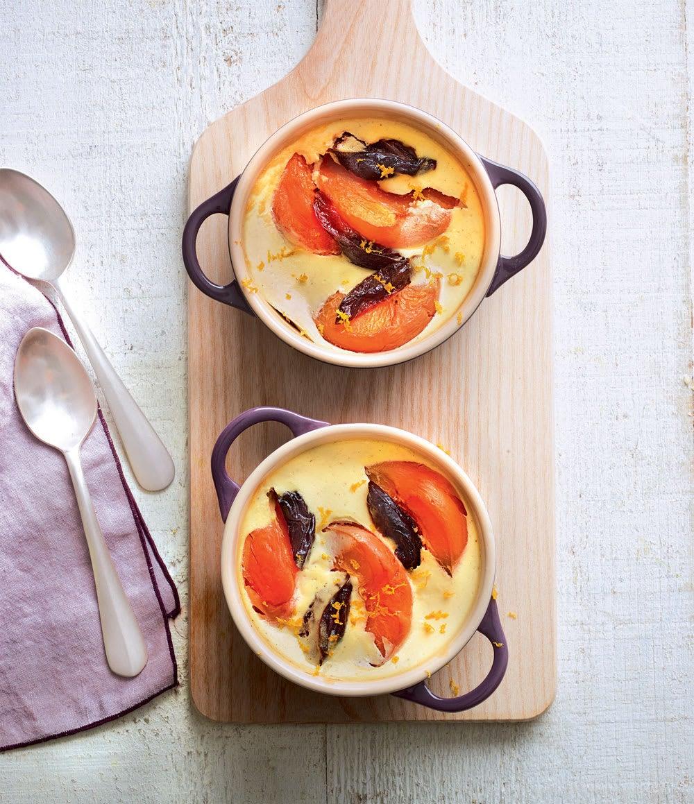 Photo de/du Pudding aux abricots et aux pruneaux par WW
