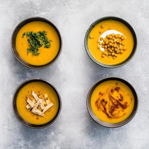 Photo de/du Soupe de carotte, navet et lentilles corail par WW