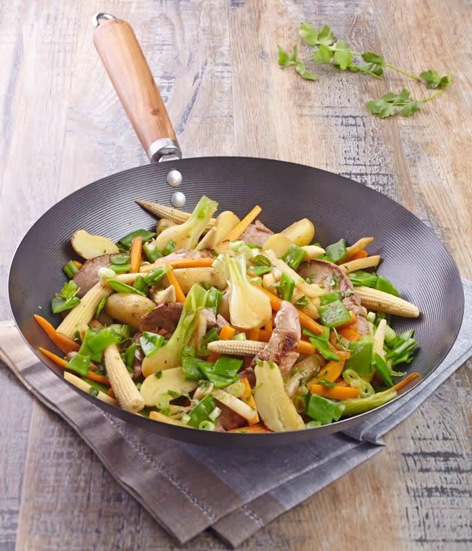 Photo de/du Wok de canard aux légumes nouveaux par WW