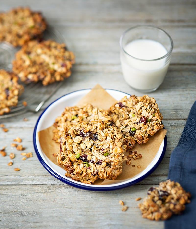 Photo de/du Biscuits granola aux airelles par WW
