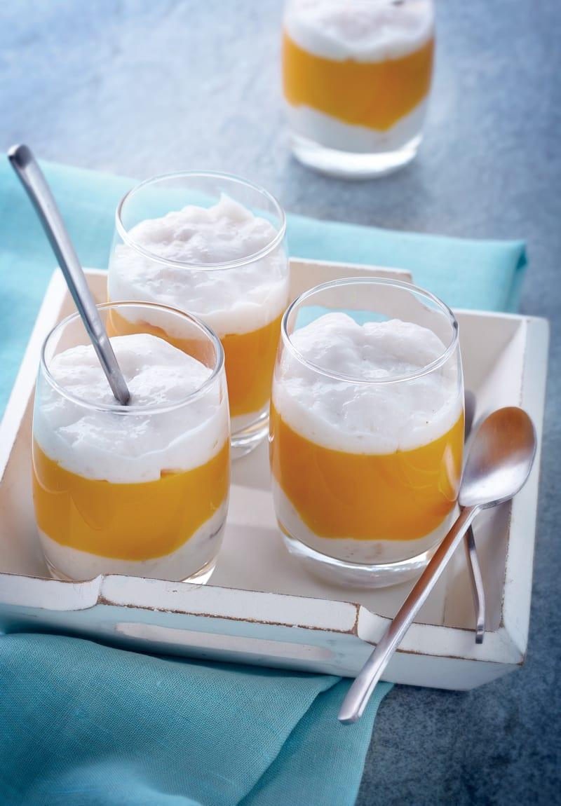 Photo de/du Trifle de tapioca à la mangue par WW
