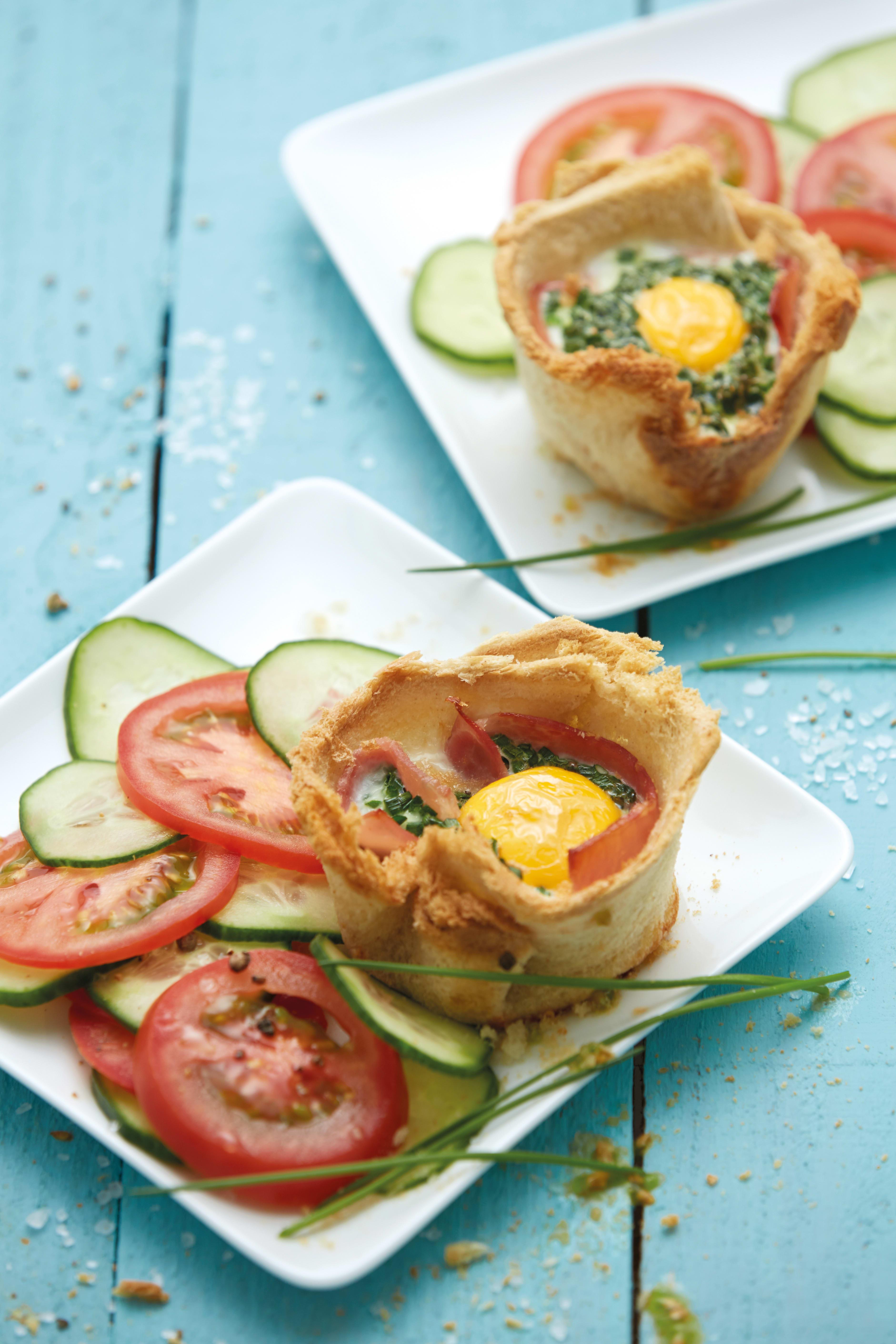 Photo de/du Muffins au jambon par WW
