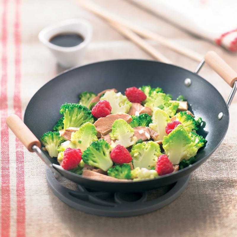 Photo de/du Salade de porc aigre-douce par WW