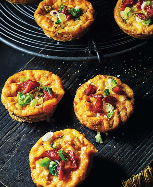 Photo de/du Muffins au chorizo par WW