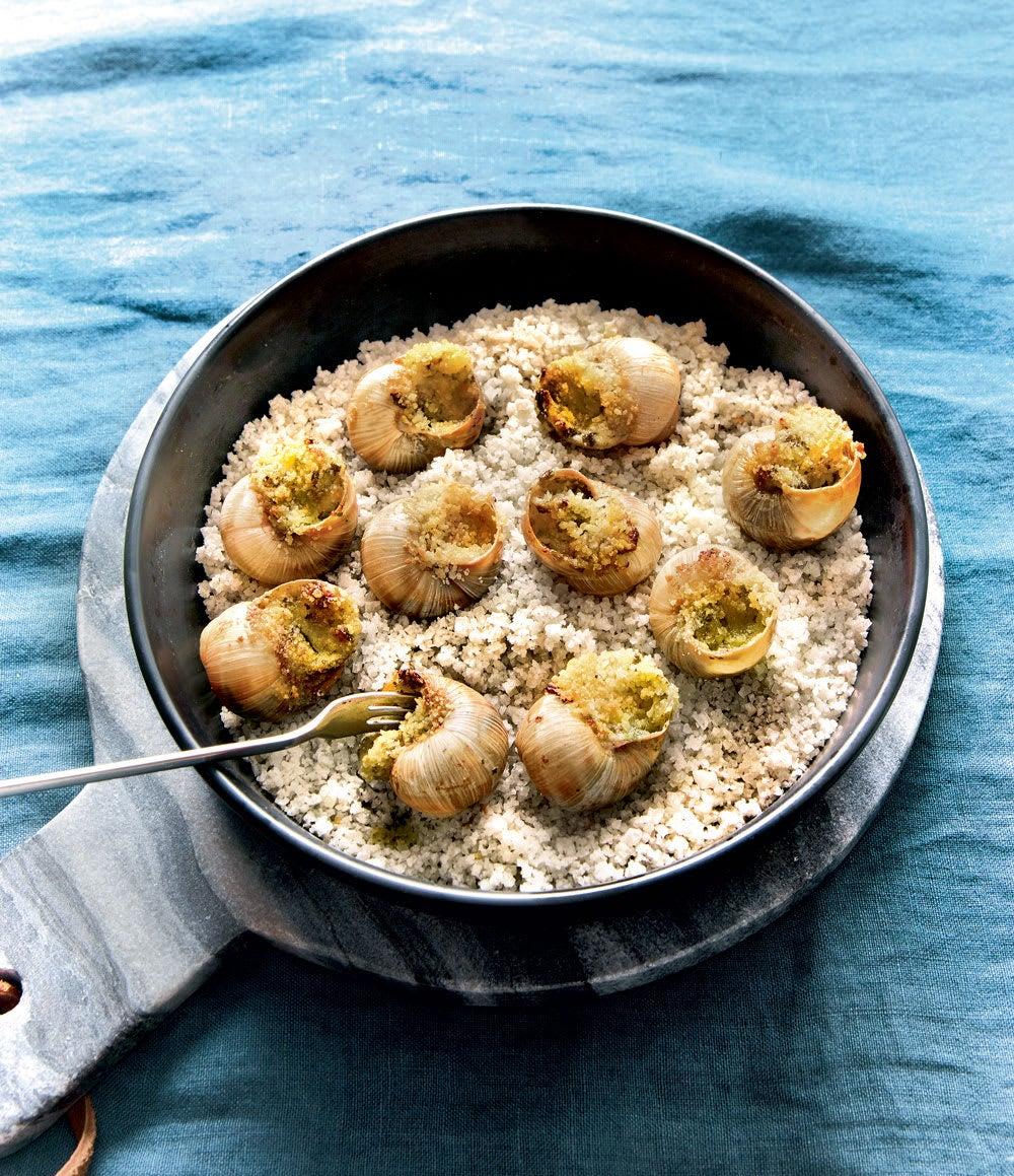 Photo de/du Escargots au fromage frais persillé par WW