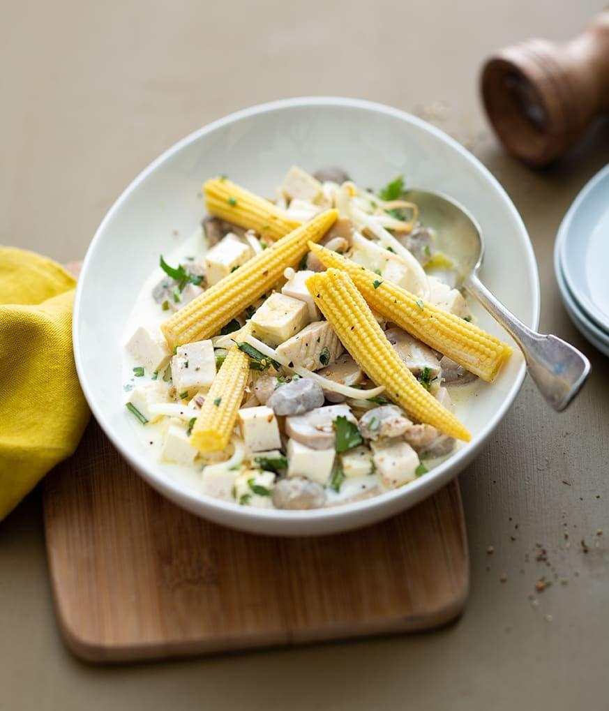 Photo de/du Tofu aux légumes sautés par WW